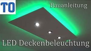 Led Flaschen Beleuchtung Selber Bauen : led deckenleuchte selber bauen direktes und indirektes led licht deutsch youtube ~ Watch28wear.com Haus und Dekorationen