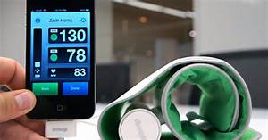 Withings Blood Pressure Monitor For Ios Hands