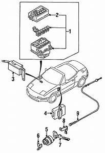 Mazda Miata Oem Actuator 1993