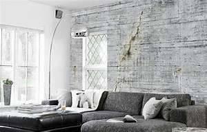 decoration murale design une illusion interessante With deco murale salon design