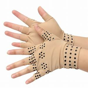 Half Finger Magnetic Joint Glove Hand Support Pain Relief