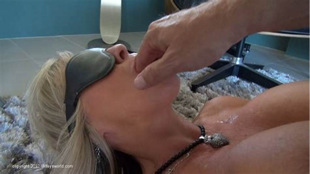 #Blindfolded #Milf #Shows #Off #Her #Deepthroat #Skills #And #Gets
