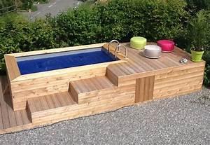 best fabriquer un bassin de jardin hors sol images With fabriquer piscine hors sol bois