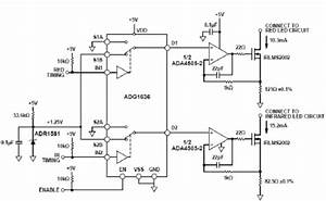 Analog Circuit For Pulse Oximeter Transmitter Unit