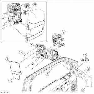I Have A 2008 F250 With Lighted Extendable Tow Mirrors The