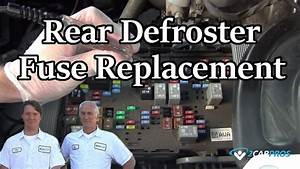 Rear Defroster Fuse Box 2004 Ford Tauru Windshild
