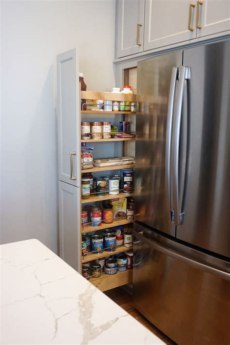 Here's 20+ ideas to get that organized kitchen pantry you've always wanted. Pin by Cabinets by Design LLC on Storage | No pantry solutions, Kitchen appliances, Pull out pantry