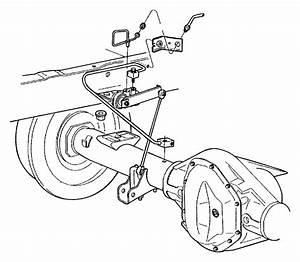 2001 Dodge Ram 1500 Tube  Brake  Rear  Hose  Junction