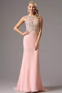 une robe cocktail longue rose la boutique de maud With boutique de robe de soirée
