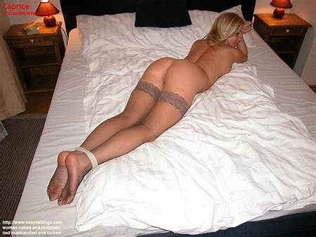 Young Up Teenagers In Tied Bed Nude