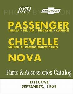 1970 Chevelle Wiring Diagram Manual Reprint Malibu  Ss  El