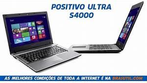 Notebook Positivo Ultra S4000  Notebook Positivo S4000 Core I3 4gb