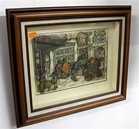 shadow box art Vintage 3D Shadow Box Art by Anton Pieck | The Jolly Pack ...