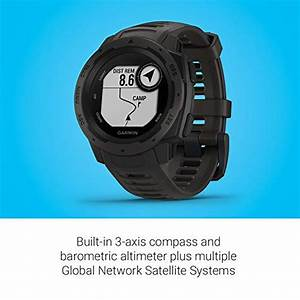 Gps Galileo Compatible : garmin 010 02064 00 instinct rugged outdoor watch with gps features glonass and galileo heart ~ Melissatoandfro.com Idées de Décoration