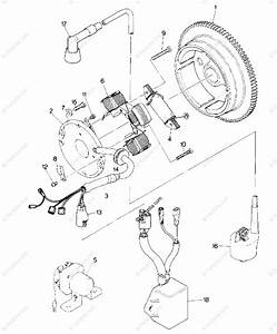 Polaris Atv 1989 Oem Parts Diagram For Magneto Assembly