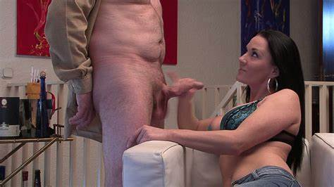 Hidden Hand Job Ends With Good Ejaculation