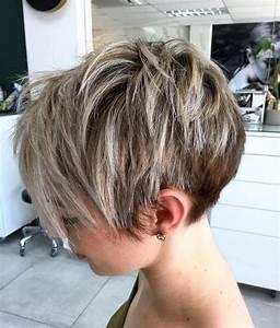 Coupe Courte Tendance 2019 : coupe cheveux femme courte 2019 ~ Dallasstarsshop.com Idées de Décoration
