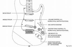 Info Needed About Richie Sambora Strat With Active  Passive
