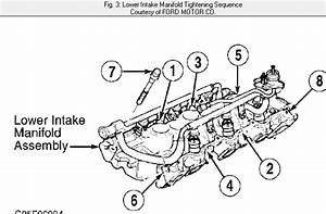 I Need A Diagram Of The Intake Manifold For A 2000 Ford