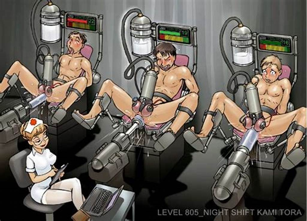 #Bondage #Milking #Machine