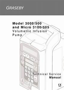 Graseby 3000  500 3100  505  Infusion Pump Service Manual