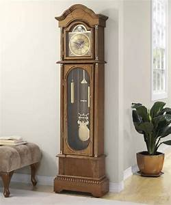 Large Wood Antique Floor Standing Grandfather Clock Moving