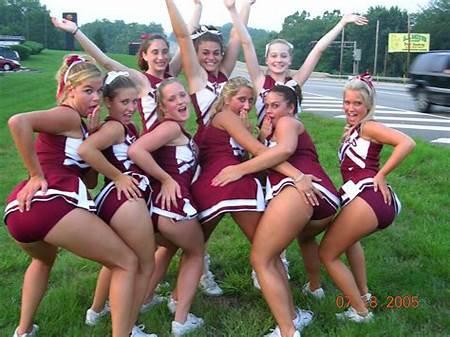 Cheerleader Nude Candid Teen