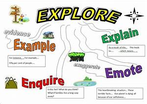 A Little Road Map To Help Pupils To Build Up Detail In