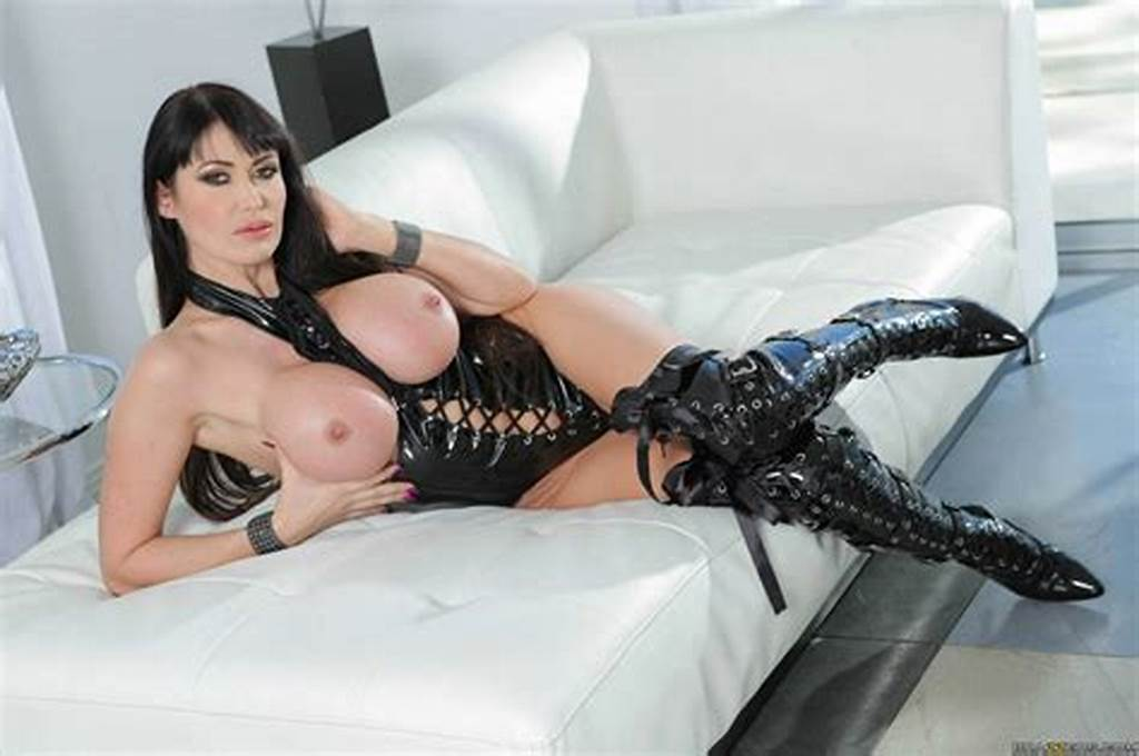 #Eva #Karera #In #Black #Leather #Corset #And #Boots #Shows #Off #Her