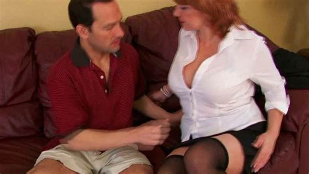 #Mature #Woman #Makes #Her #Neighbor #Lick #Her #Big #Juicy #Tits