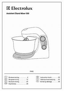 Electrolux Asm550 Mixer Download Manual For Free Now