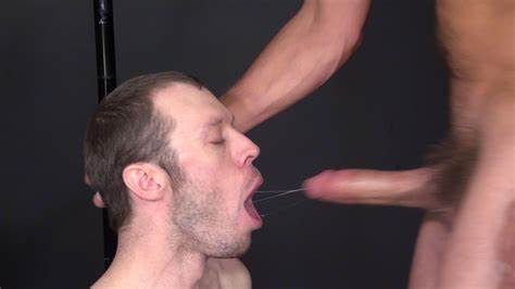 Wild Man Getting Super Tightly Deepthroat Hole Of His