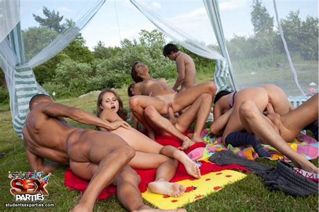 #Crazy #College #Orgy #Party #With #Anal