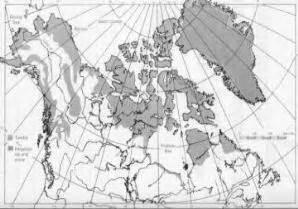 Ziemeļamerikas dabas zonas — teorija. Ģeogrāfija, 7. klase.