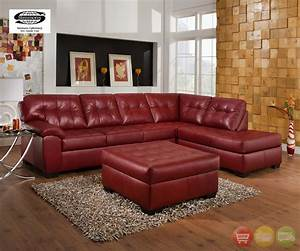 red sectional red bonded leather sofa shop factory direct With simmons red leather sectional sofa