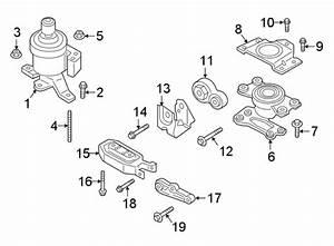 Lincoln Continental Torque  Strut  Engine  Mount  3 5