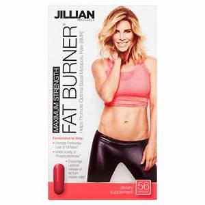 Jillian Michaels Maximum Strength Fat Burner Weight Loss Capsules  56 Ct - Walmart Com
