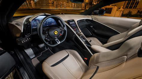 Ferrari f12 berlinetta price in india is rs. Ferrari Roma 2020 5K Interior Wallpaper   HD Car Wallpapers   ID #15142
