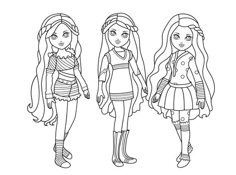 American Girl Coloring Pages Coloring pages for girls