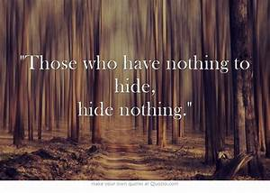 A Chart About Nothing Those Who Have Nothing To Hide Hide Nothing Numerology