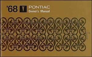 1968 Pontiac Firebird Wiring Diagram Manual Reprint