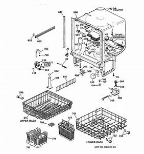 27 Ge Profile Dishwasher Parts Diagram