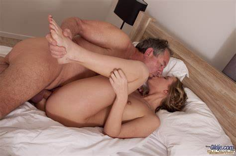Granny Pounding Insemenated By Younger Pigtailed Man
