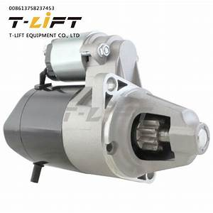 China Toyota Forklift 4p Engine Parts Starter