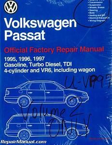 Volume 2 Only Volkswagen Passat  B4  Repair Manual 1995