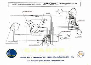Modern Vespa   Wiring Help