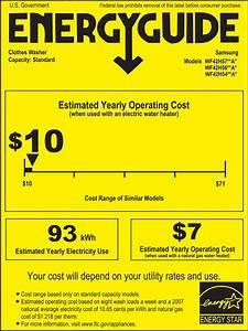 Samsung Wf42h5400af 27 Inch 4 2 Cu  Ft  Front Load Washer