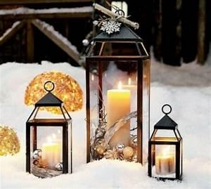Lanterne De Noel : d coration lanterne no l 33 magnifiques exemples ~ Teatrodelosmanantiales.com Idées de Décoration