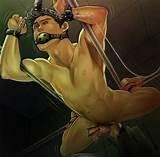 Bondaged gay hentai sex