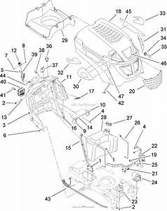 33 Toro Lx500 Drive Belt Diagram